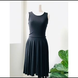 Cynthia Rowley Simple BlackDress A like Women's XS